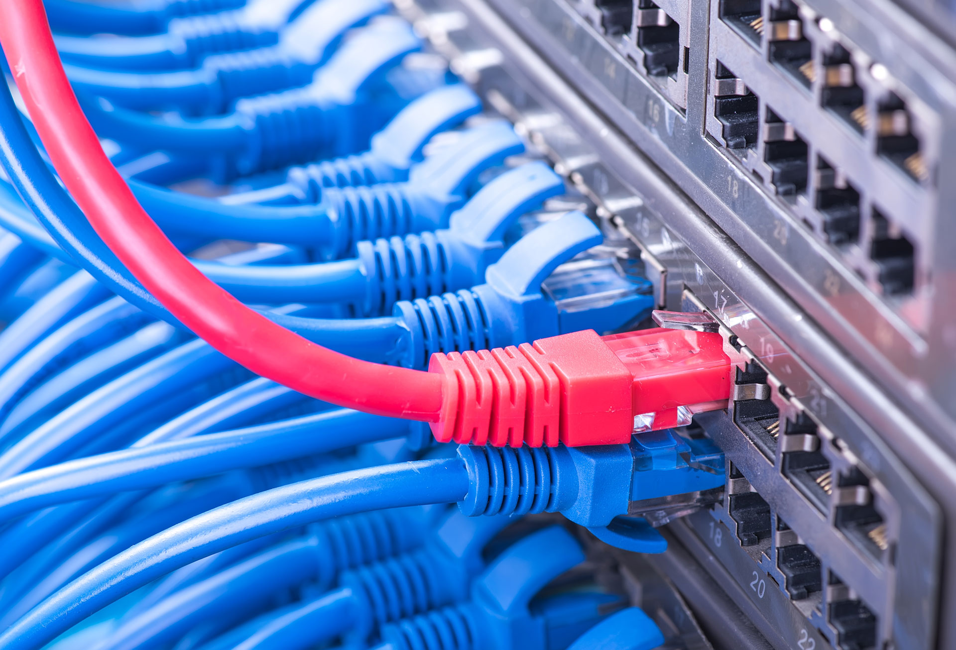 Ethernet Cabling Installation Services from Kace Communications